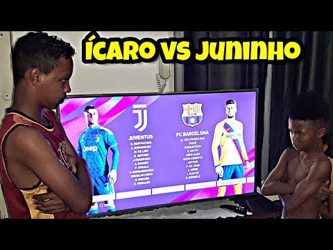 A REVANCHE De Ícaro Vs Juninho No Ps4 - Barcelona Vs Juventus (PES 2020)