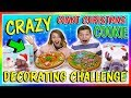 GIANT CHRISTMAS COOKIE DECORATING CHALLENGE | We Are The Davises