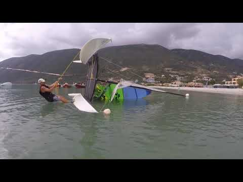 Using the Mast Head Float   Single handed with no wind