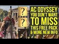 Assassin's Creed Odyssey GET A HEAD START With This Free Pack & More New Info (AC Odyssey Gameplay)