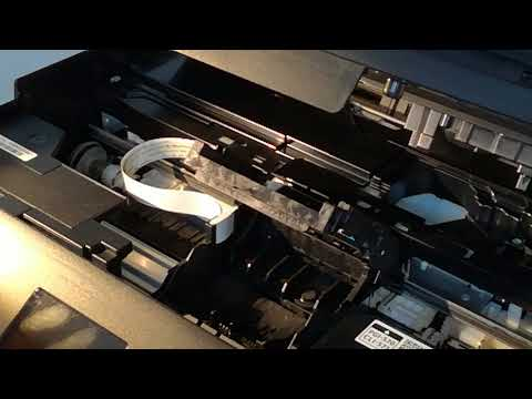 How to remove print head for Canon TS5050 TS5051 printer
