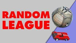 RANDOM LEAGUE - JHZER (Rocket League Modded)