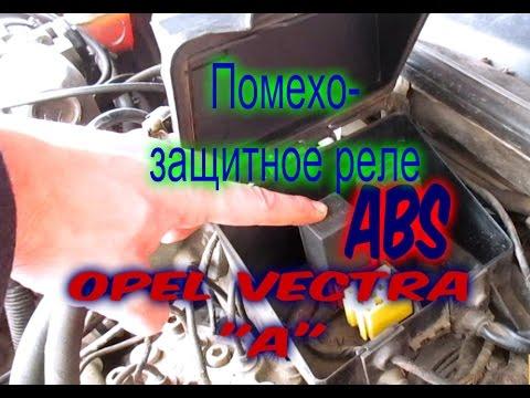 Где находится реле системы ABS на Опель Вектра А 2.0i c2.0ne
