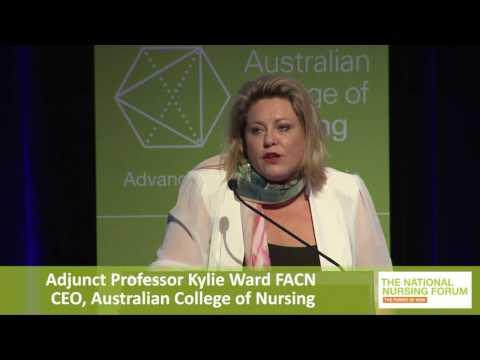 Adjunct Professor Kylie Ward FACN CEO, Australian College of Nursing