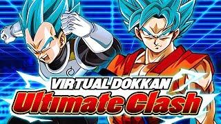 VIRTUAL DOKKAN ULTIMATE CLASH FINAL BOSS!   DBZ Dokkan Battle Battlefield