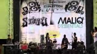 cover bring me to life at pensi SMAN 2 etsparttion