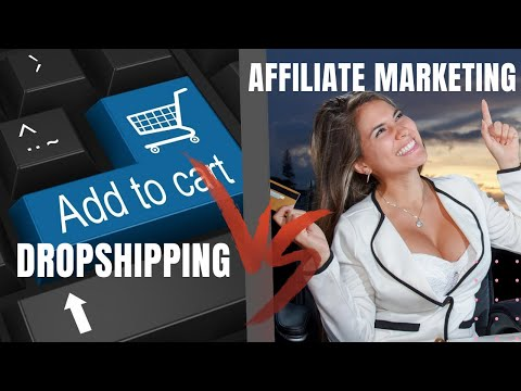 Affiliate Marketing Vs Dropshipping Which Is Better thumbnail