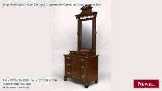 English Antique Dresser Chinese Chippendale Cabinets And