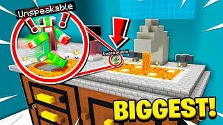 WORLD'S BIGGEST BATHROOM OBSTACLE COURSE!