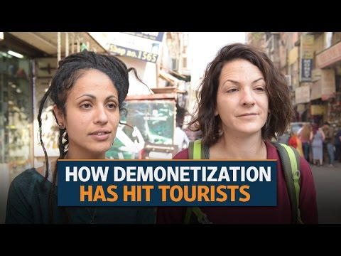 Demonetisation: How it has hit tourists in India