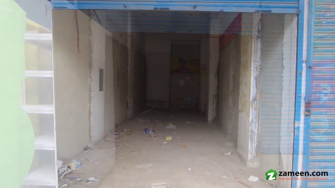 2 MARLA SHOP FOR SALE IN BLOCK 13 GULISTAN-E-JAUHAR KARACHI