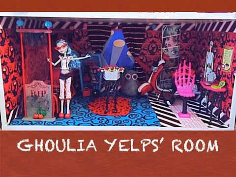 how to make a monster high doll room for ghoulia yelps - Ghoulia Yelps