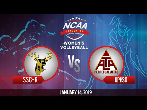 NCAA 94 Women's Volleyball: SSC-R vs. UPHSD | January 14, 2019