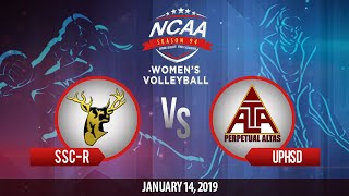 NCAA 94 Women's Volleyball: SSC-R vs. UPHSD | January 14, 2019