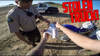 STOLEN TRUCK! (Police Involved) thumbnail