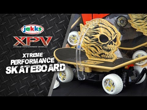 Jakks Pacific's XPV Xtreme Performance Skateboard! | A Toy Insider Play by Play