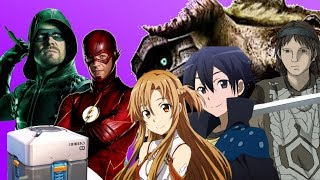 The END of Loot Boxes? Live Action Sword Art Online!! Colossus Tops Chart, More CW Superheroes - MNM