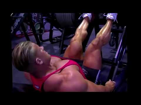 Leg press Jay Cutler