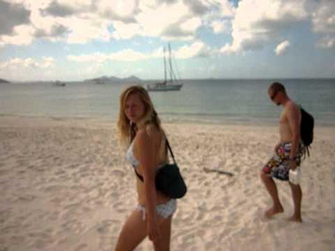 Whitehaven beach - Australia - piskaci pisek :)