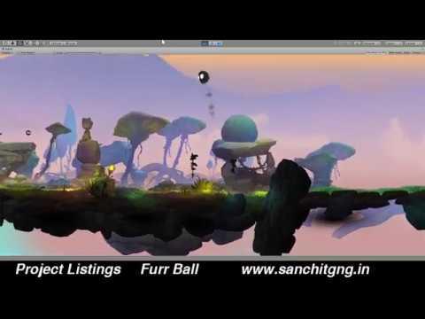 Furr Ball Unity 3D game development