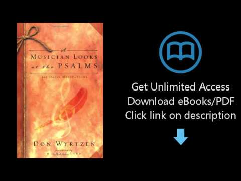 Download A Musician Looks at the Psalms: 365 Daily Meditations PDF