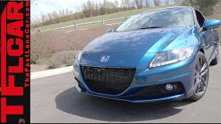 Factory Tuned Supercharged Hybrid Honda CR-Z: A Baby NSX?