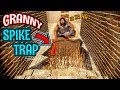 Granny Built A *NEW* EXPENSIVE SPIKE PIT!!! | Granny The Mobile Horror Game (Mods)
