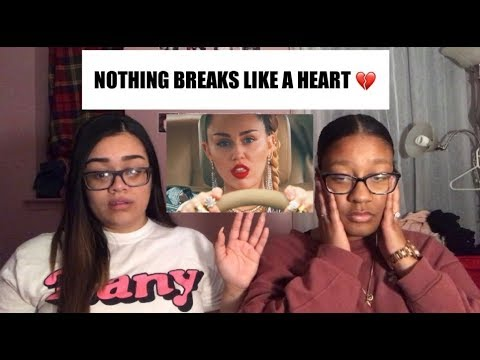 Mark Ronson - Nothing Breaks Like a Heart  ft. Miley Cyrus| REACTION