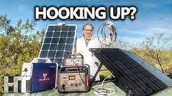 HOW TO Charge ANY Solar Generator | Power Station With ANY Solar Panel | DIY Series Parallel Adapter