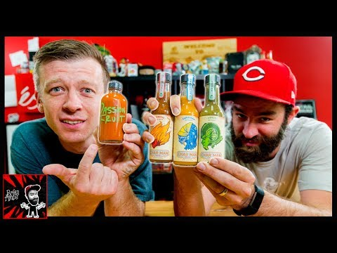 THE GREATEST HOT SAUCE LINEUP OF ALL TIME?! | Char Man