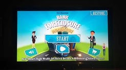 WATCH OUT MONOPOLY & MOVE OVER CASH FLOW- Bank Foreclosure Millionaire Real Estate Investing Game