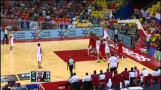 Russia Vs. Angola / 2012 FIBA Olympic Qualifying Tournament: Quarter-Final