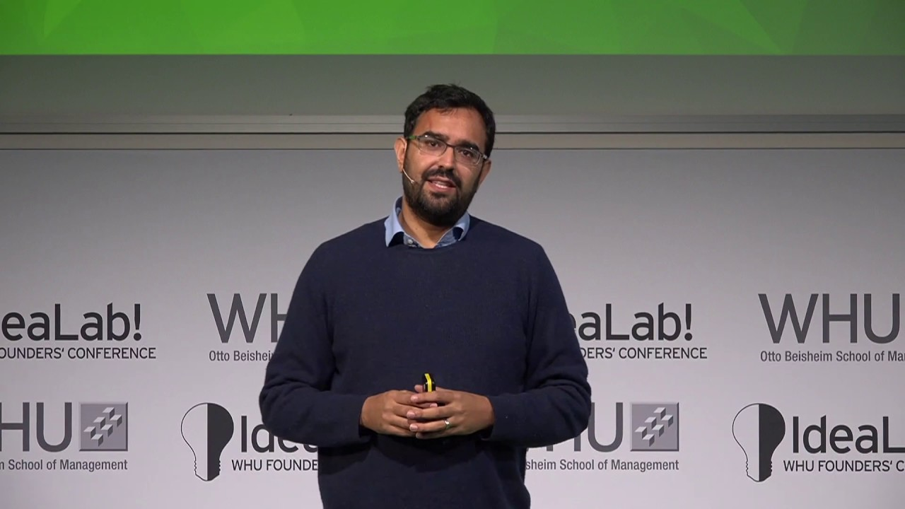 Azeem Azhar from The Exponential View at IdeaLab! 2016 - WHU ...