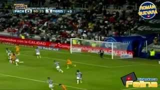 Pachuca vs Tigres 1-1 Cuartos De Final IDA Apertura 2014 Liga Mx HD - RESUMEN GOLES