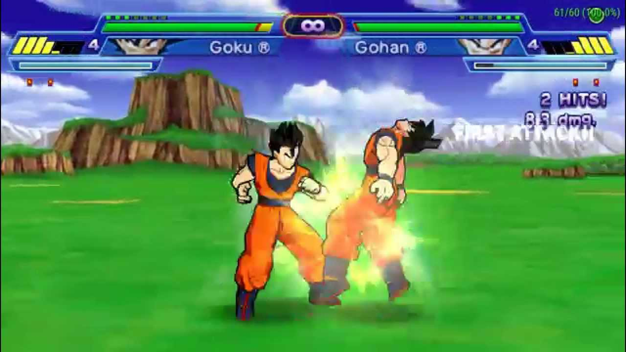 setting ppsspp: dragon ball z shin budokai another road - goku vs ...