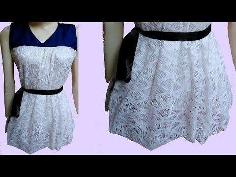 Balloon Top DIY | Balloon top drafting, cutting and stitching step by step tutorial