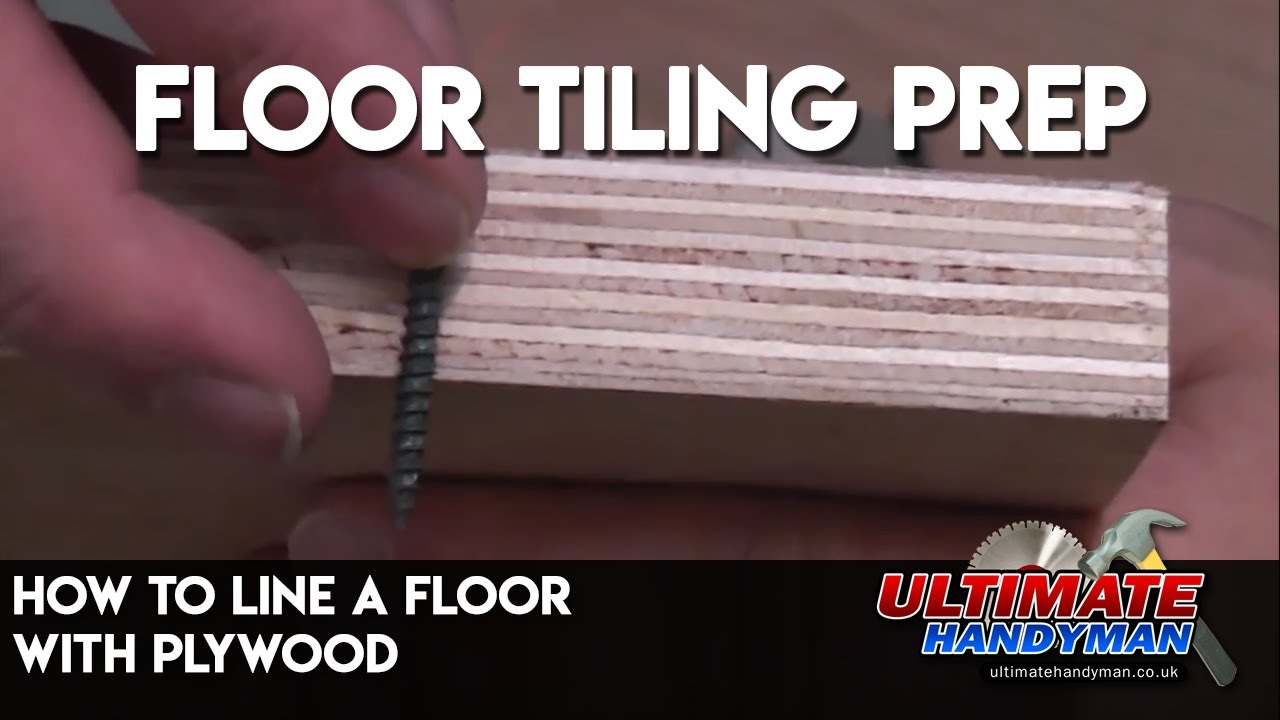 How To Line A Floor With Plywood