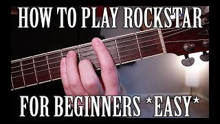 how-to-play-rockstar-by-post-malone-on-guitar-for-beginners-easy