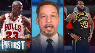 No way LeBron 'won the two hardest championships in NBA history' - Broussard | FIRST THINGS FIRST