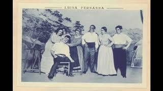 «Luisa Fernanda» (Federico Moreno Torroba): fado de Aníbal [n. 13 original]
