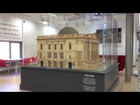 Lego model of Dublin City Hall