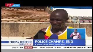 Geoffrey Kamwaror leads Kenya Police in championship