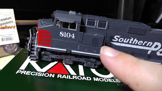 Kato C44-9W Southern Pacific Review And DCC Install Tips