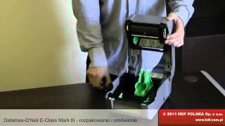 видео Принтер этикеток Datamax W-6308