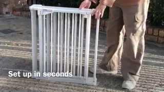 Demonstration For Vebo 6 Panel Metal Tube Pet Exercise Pen / Room Divider