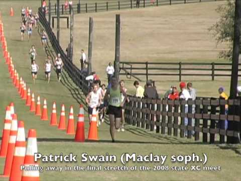 Patrick Swain - 2008 State Cross Country Champion
