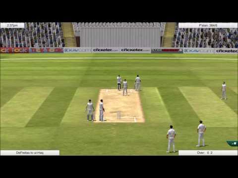 Cricket Captain 2016 - Classic Test Series - England v Pakistan 1992 1st Test