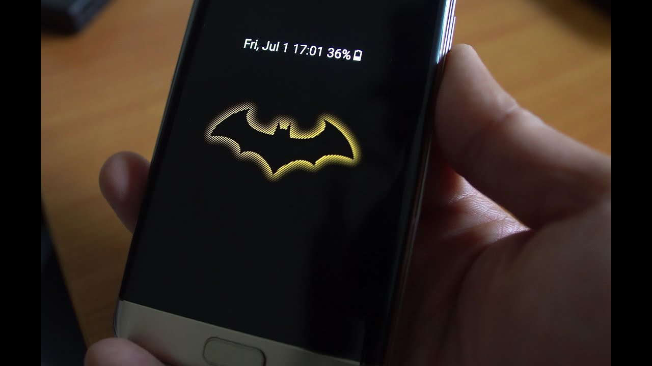 Galaxy S7 Edge Batman Injustice Edition Conversion for All