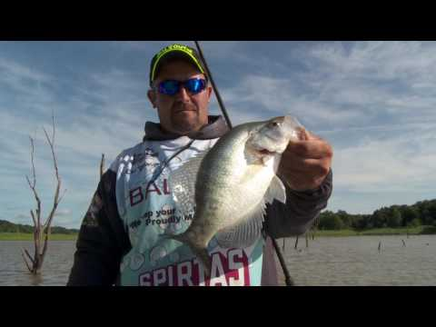 Spring Crappie Fishing Tactics on Mark Twain
