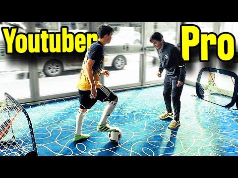 Epic 1v1 Skills & Panna Challenge - Youtuber vs Pro!